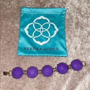 Kendra Scott Violet Cassie Bracelet RARE